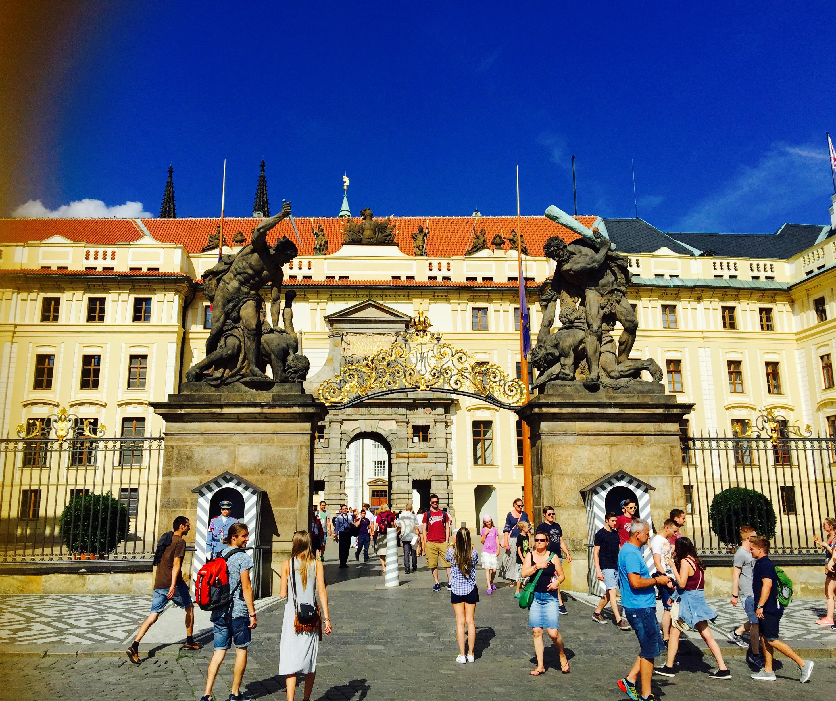 プラハ城1