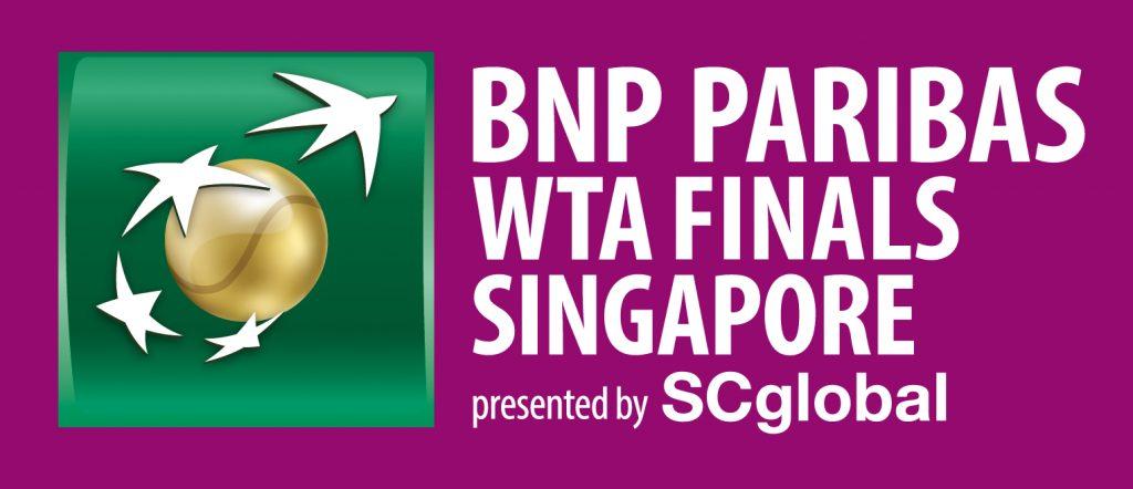 BNP PARIBAS WTF FINALS SINGAPORE オフィシャルロゴ