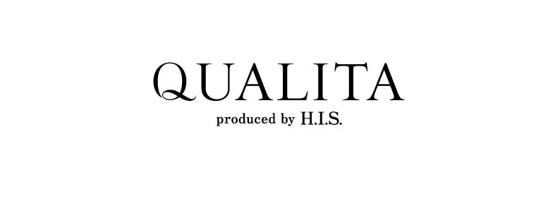 QUALITA ロゴ HIS付き