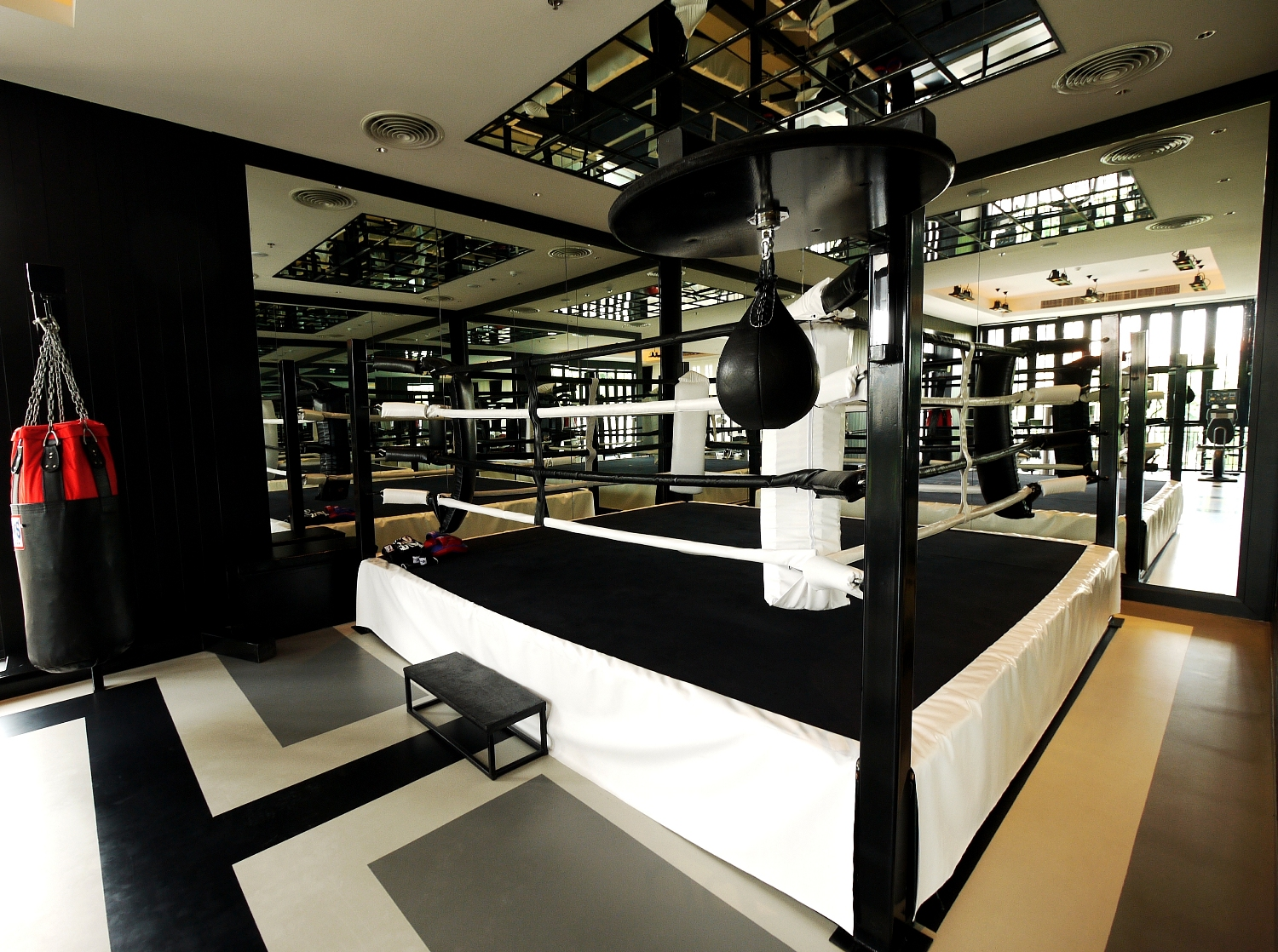 Gym - Muay Thai Boxing ring