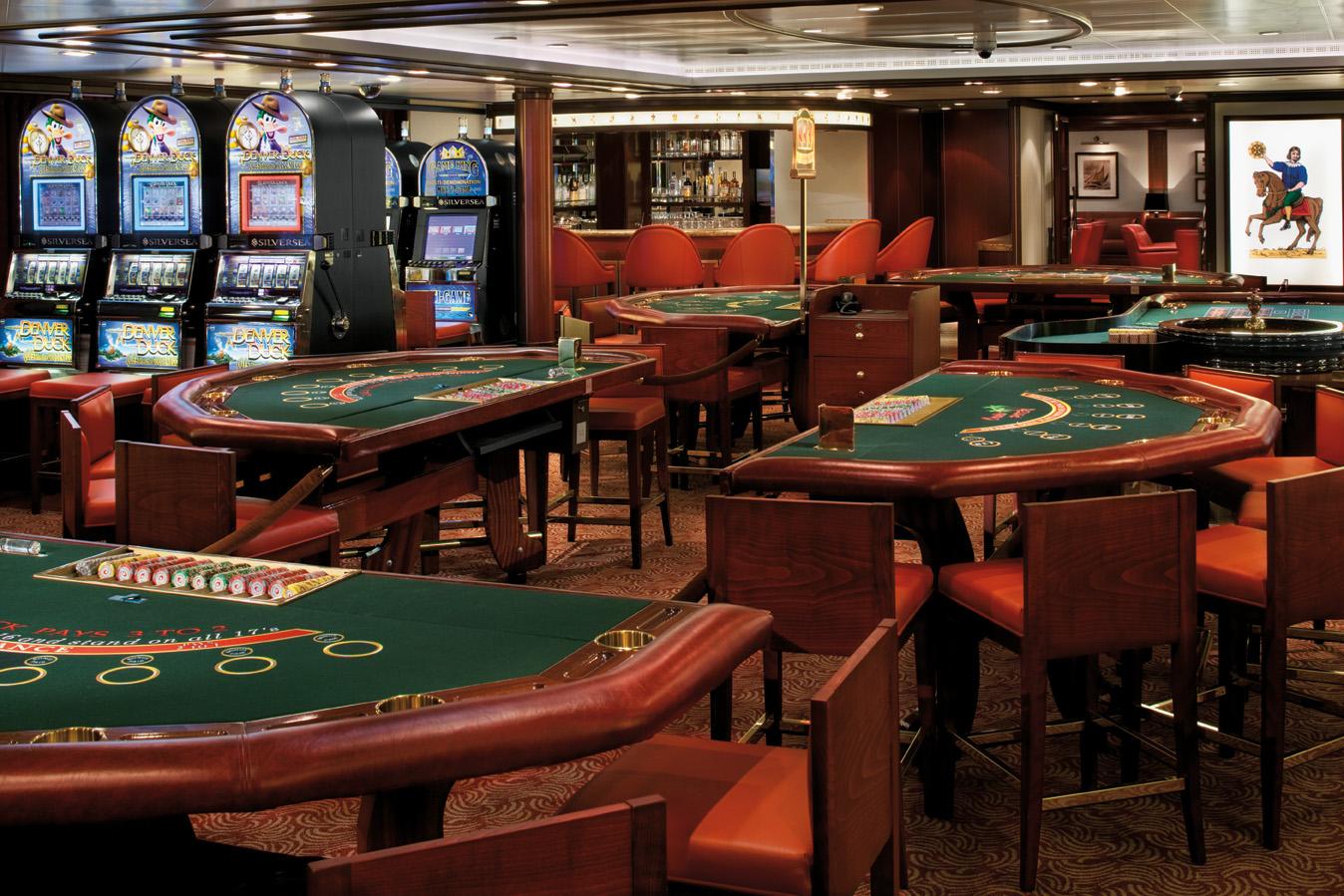 Casino - Deck 8 Aft Silver Spirit - Silversea Cruises