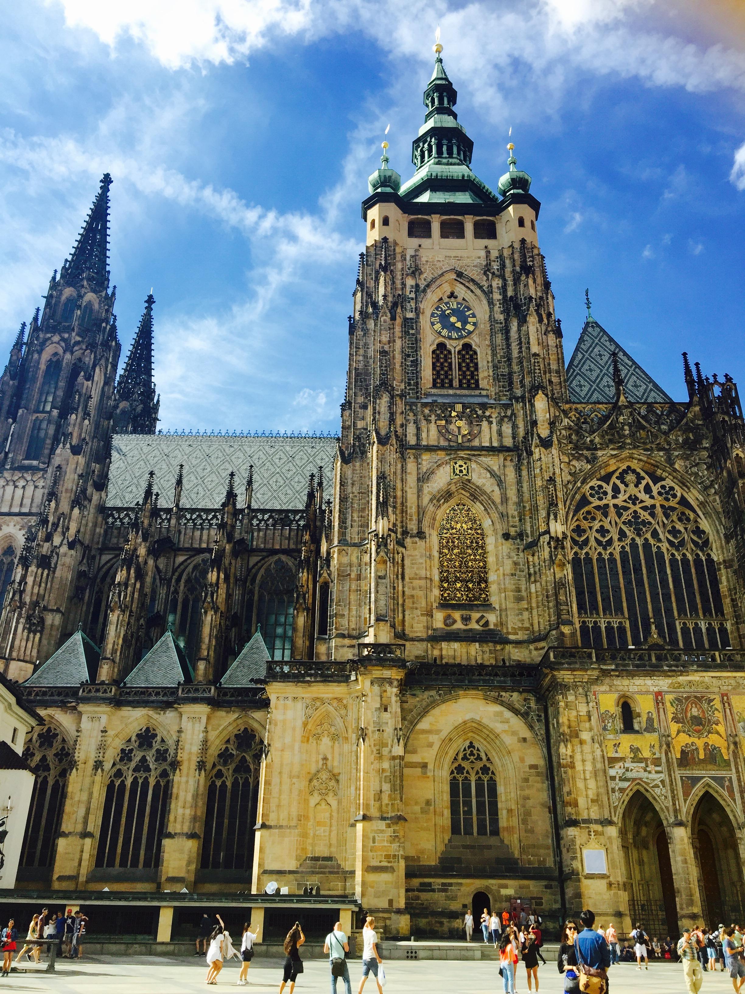 プラハ城2