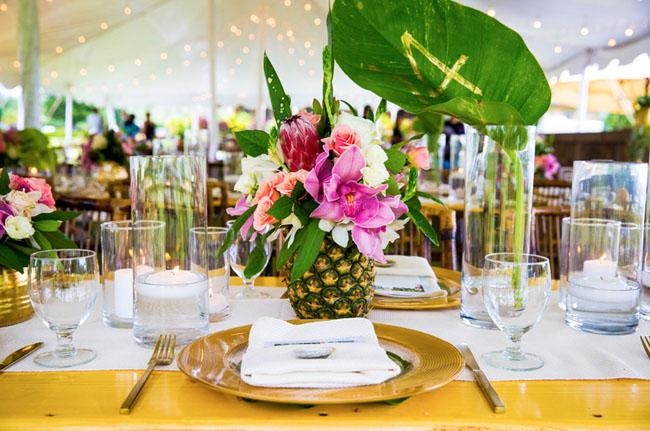wedding- pinapple